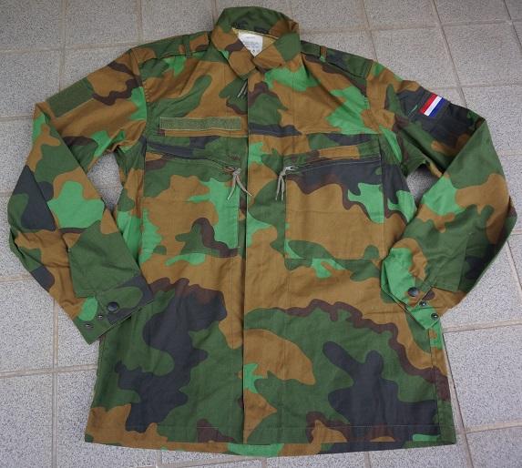 オランダ軍 熱帯迷彩ジャケット サイズ6080/9095