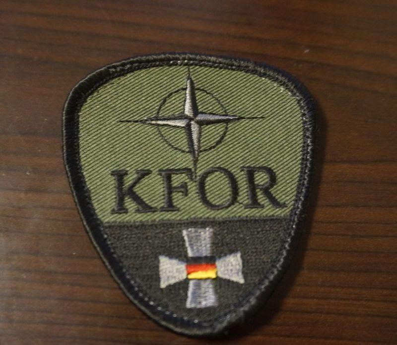 ドイツ連邦軍(ドイツ軍)KFOR(コソボ治安維持部隊)パッチ新品