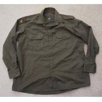 フィジー軍ODシャツ徽章付きXL