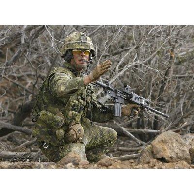 画像4: カナダ軍CADPAT迷彩アサルトベスト用キャンティーンポーチ右用