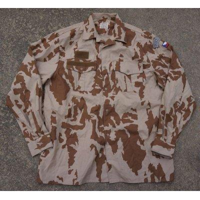 画像1: チェコ軍Vz.95砂漠迷彩シャツ