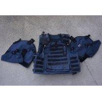 英軍オスプレイmk3ボディアーマーカバーシビリアンブルー色180/116