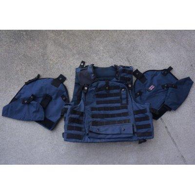 画像1: 英軍オスプレイmk3ボディアーマーカバーシビリアンブルー色180/116