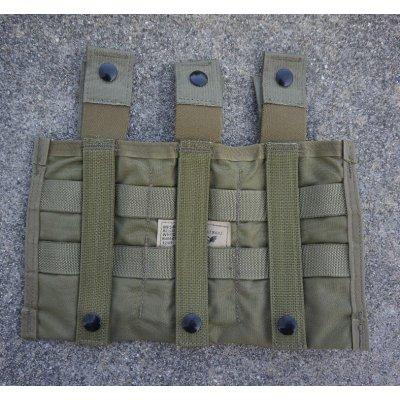 画像2: 米軍イーグルSFLCS V.2 トリプルマガジンポーチ(3マグキャリア)カーキ新品