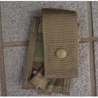 米軍MOLLEII シングル40mmグレネードポーチOEFCP(MULTICAM迷彩)