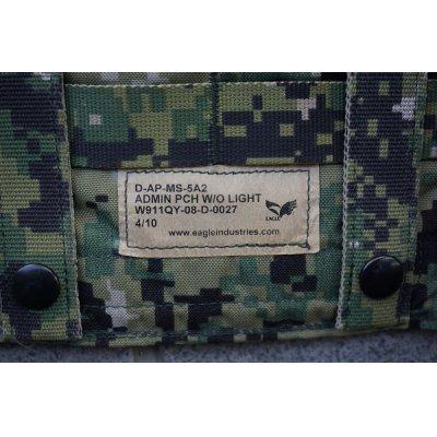 画像3: 米軍イーグルAOR2迷彩アドミンポーチ新品