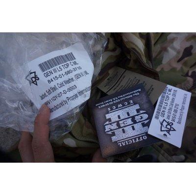 画像3: 米軍ECWCS Gen3 LV5ソフトシェルジャケットOEFCP(MULTICAM迷彩)MEDIUM-LONG新品