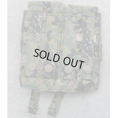 画像2: 米軍イーグルAOR2迷彩ダブルマガジンポーチ新品
