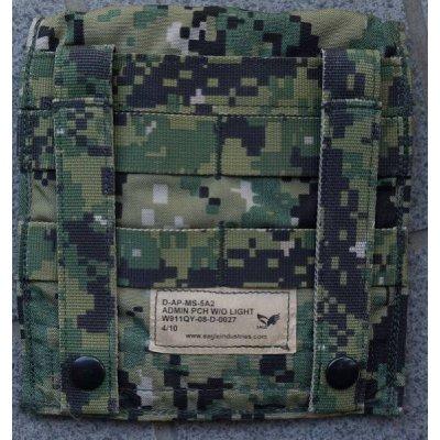 画像2: 米軍イーグルAOR2迷彩アドミンポーチ新品