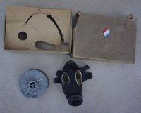 ドイツ第三帝国(ナチスドイツ)民間用VM40ガスマスク新品