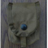 米軍 米海兵隊MOLLEIIハンドグレネードポーチCB(コヨーテブラウン)新品