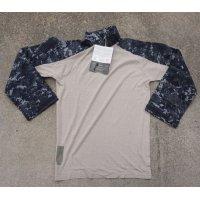 米軍放出CRYE/DRIFIRE製 米海軍デジタル迷彩(NWU)コンバットシャツ新品