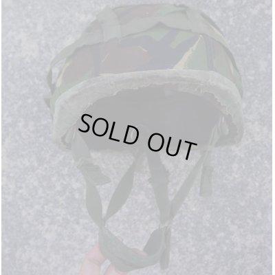 画像3: 英軍 空挺ケブラーヘルメットDPM迷彩ヘルメットカバー付きMEDIUM