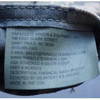 画像3: パラクレイト ガスマスクポーチUCP迷彩(ACU迷彩)新品プレMSAロット