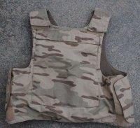 ベルギー軍NFM製デザートジグソー迷彩ボディアーマーカバー(良品)