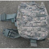 米軍 米空軍放出MSAパラクレイト ガスマスクバッグ デジタルタイガー迷彩(ABU迷彩)