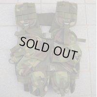 米軍放出ブラックホークLBVタクティカルベスト ウッドランド迷彩 新品