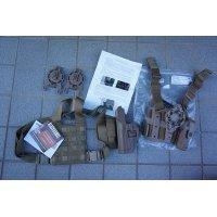 ドイツ向け特別仕様ブラックホークSERPA LEVEL3レッグホルスターCT(コヨーテタン)H&K USP・P8用 新品