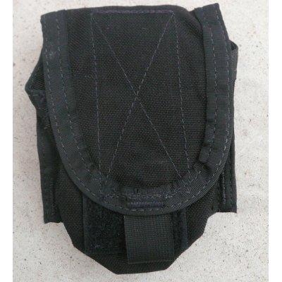 画像1: パラクレイト ハンドグレネードポーチ黒 新品プレMSAロット