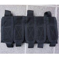 MSAパラクレイト5連フラッシュバンポーチ黒 新品