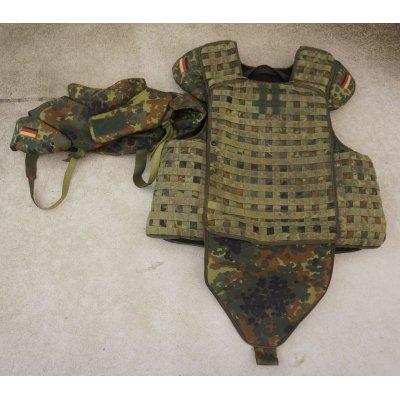 画像1: ドイツ連邦軍(ドイツ軍)フレクター迷彩IdZボディアーマーX-LARGE