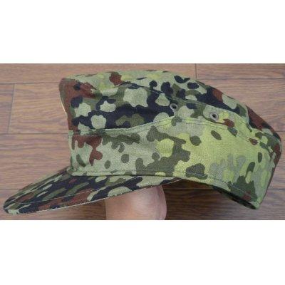 画像2: ドイツ連邦軍(西ドイツ軍)試作フレクター迷彩キャップ帽