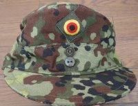 ドイツ連邦軍(西ドイツ軍)試作フレクター迷彩キャップ帽