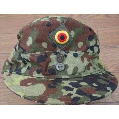 画像1: ドイツ連邦軍(西ドイツ軍)試作フレクター迷彩キャップ帽