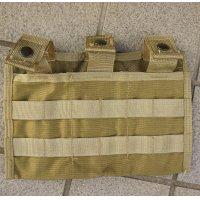 米軍アライドSFLCSトリプルマガジンポーチ(3マグキャリア)カーキ新品