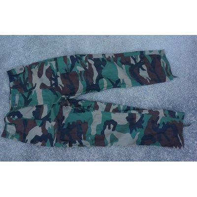 画像1: ANA(アフガニスタン政府軍)ウッドランド迷彩パンツ サイズ40