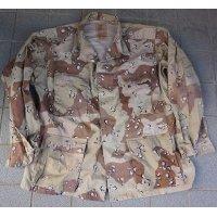 イラク軍6Cデザート迷彩ジャケットX-LARGE-REGULAR