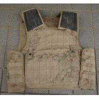 英軍放出SOLO製アサルトオスプレイ ボディアーマー タン色180/108(OPSパネル付き)