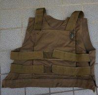 南アフリカ国防軍ボディアーマー ヌートリアブラウンX-LARGE