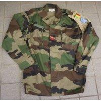 セネガル軍CCE迷彩F1上下セット国連派遣部隊 徽章・腕章付き新品