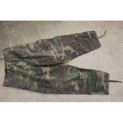 画像1: スリランカ軍ウッドランド迷彩パンツ
