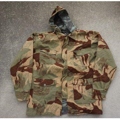 画像1: パキスタン軍? ブラッシュパターン+リザードパターン迷彩リバーシブル スモックMEDIUM