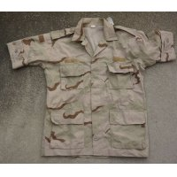 UAE(アラブ首長国連邦)軍3Cデザート迷彩ジャケット半袖改造品