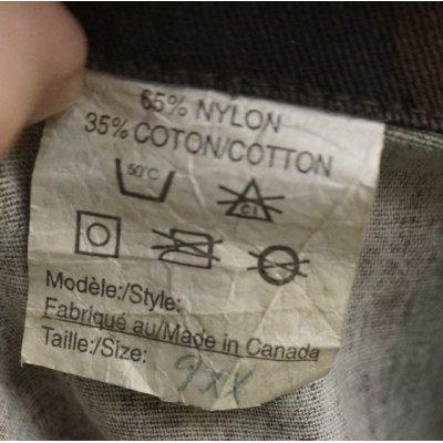 画像4: カナダ製 民生品? カナダ軍 試作品? ウッドランド迷彩ジャケット