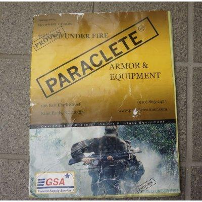 画像1: 米CIA放出パラクレイト2004年春版カタログ全36ページ(RAV,HPC,FLC4種,RACK,OTV,ブリーフケースベストなど掲載)