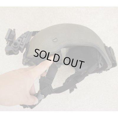 画像2: 米軍放出アーマー ソース製MICH-2001型ヘルメットLARGEウィルコックスL2G04マウント付き