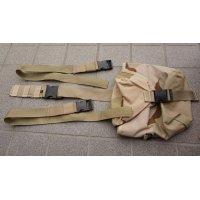 米軍放出FEDERAL COVERS & TEXTILES製RACKベスト用レッグポーチ3Cデザート迷彩 新品