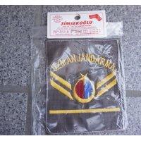 トルコ特殊国家憲兵隊 三等軍曹階級章2枚セット新品