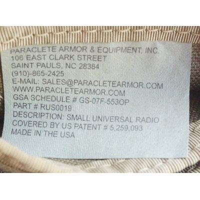 画像4: パラクレイト スモールユニバーサルラジオポーチCB(コヨーテブラウン)プレMSAロット