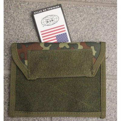 画像1: MFH製アドミンポーチ ドイツ連邦軍フレクター迷彩(フレック迷彩)新品