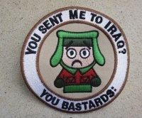 米軍イラク戦争ベテランズ向けサウスパーク カイル ジョークパッチ新品