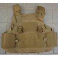 米軍放出メイフラワーLPACアーマーキャリアCB(コヨーテブラウン)初期型 新品