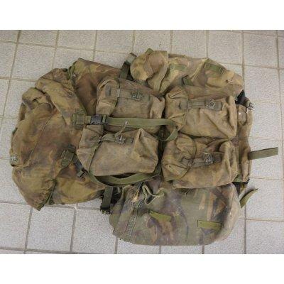 画像1: 英軍PLCEベルゲンDPM迷彩カスタム品サイドポケット付き