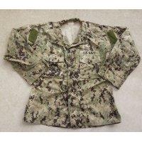 米軍・米海軍SEABEES刺繍入りNWU TYPE3(AOR2)ジャケット
