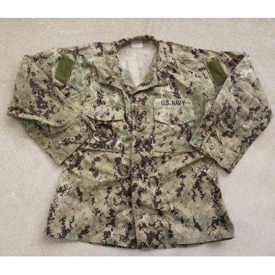 画像1: 米軍・米海軍SEABEES刺繍入りNWU TYPE3(AOR2)ジャケット