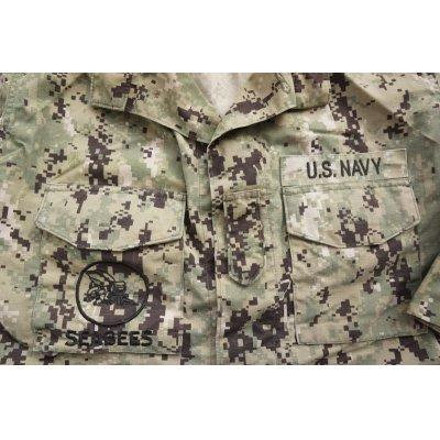 画像3: 米軍・米海軍SEABEES刺繍入りNWU TYPE3(AOR2)ジャケット